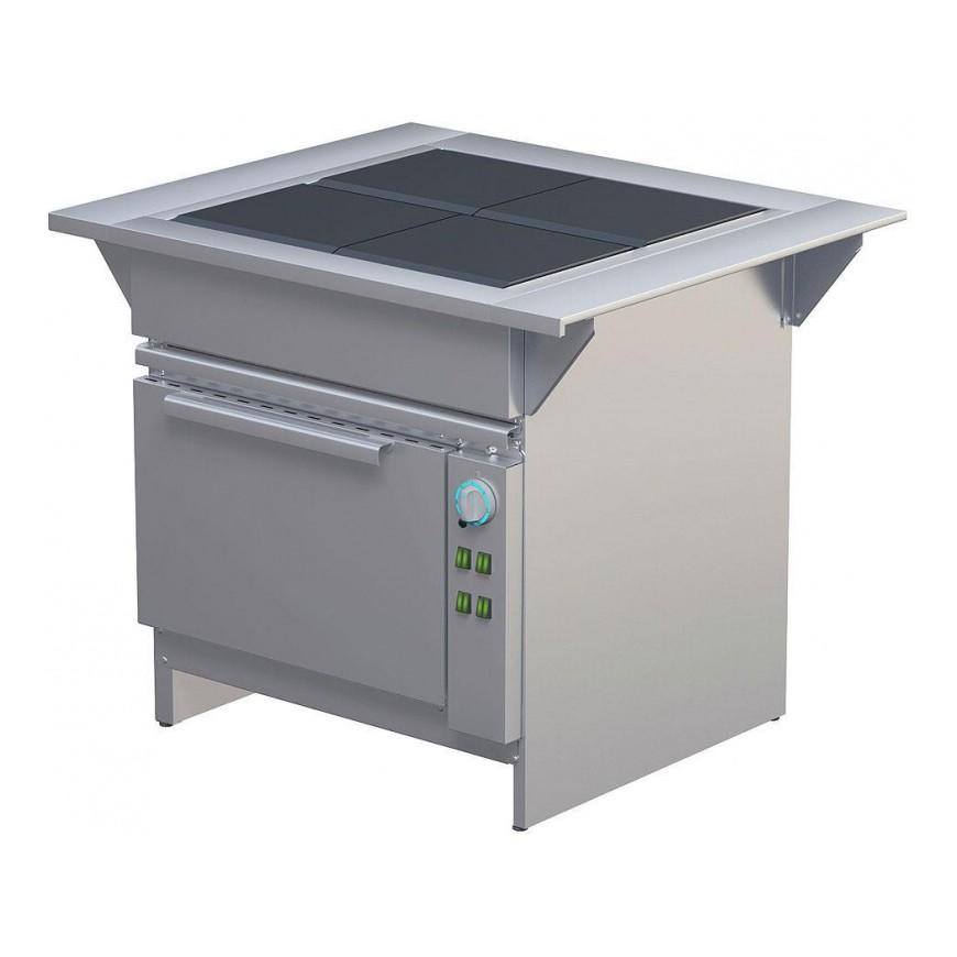 Плита электрическая 4-х конфорочная ЭПШЧ 9-4-18Э
