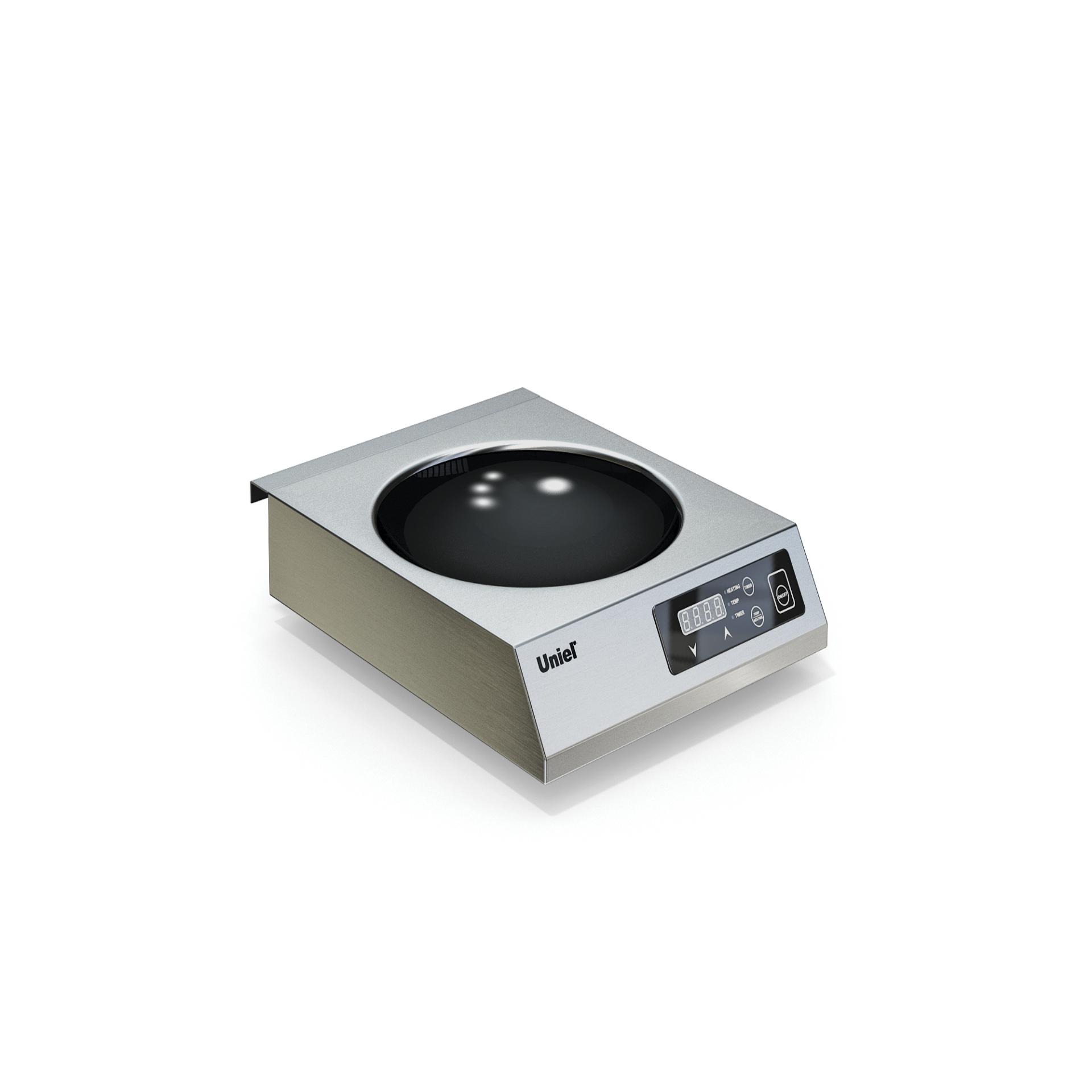 Плита индукционная ВОК 1-но конфорочная UN-3,5KC-1