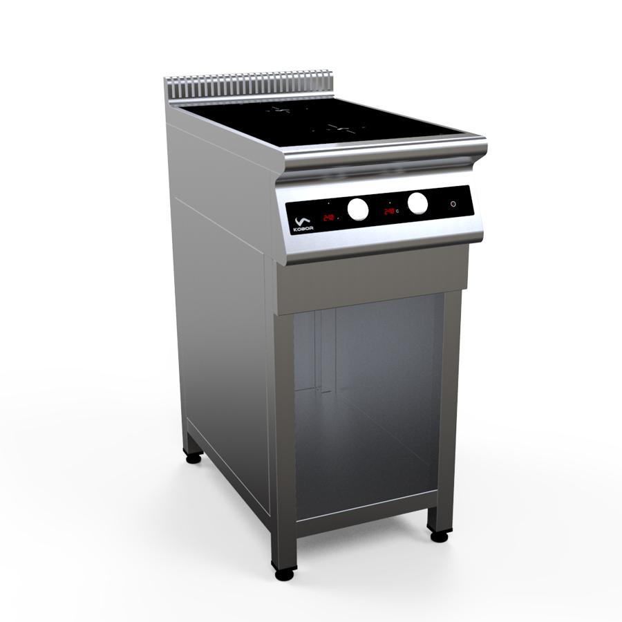 Плита индукционная двухконфорочная I7-2S1 настольная серия 700