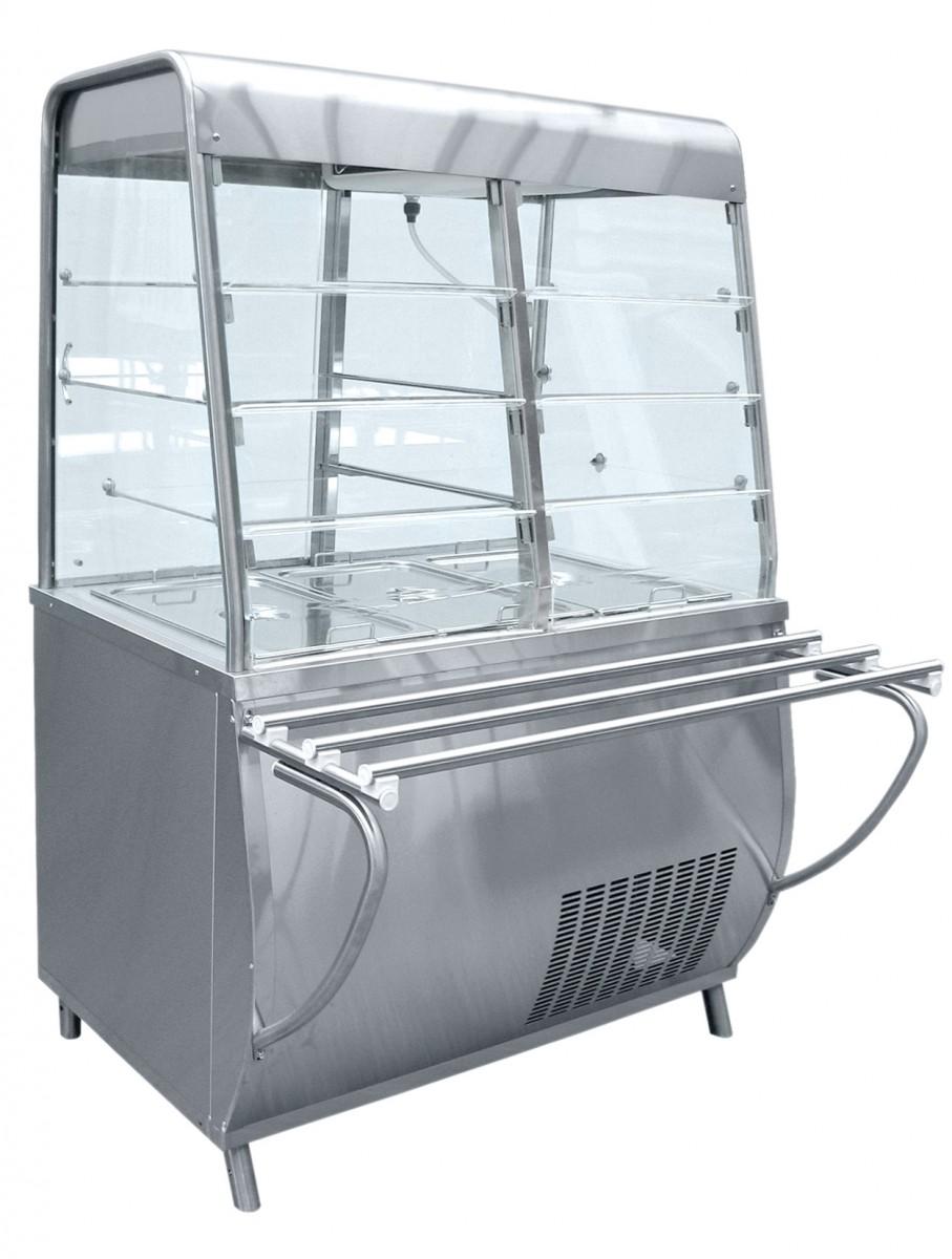 Прилавок для холодных закусок ПВВ(Н)-70Т-С-НШ