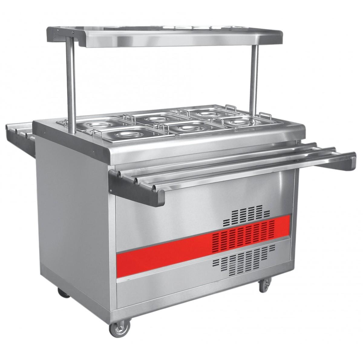 Прилавок-витрина для холодных закусок ПВВ(Н)-70ПМ