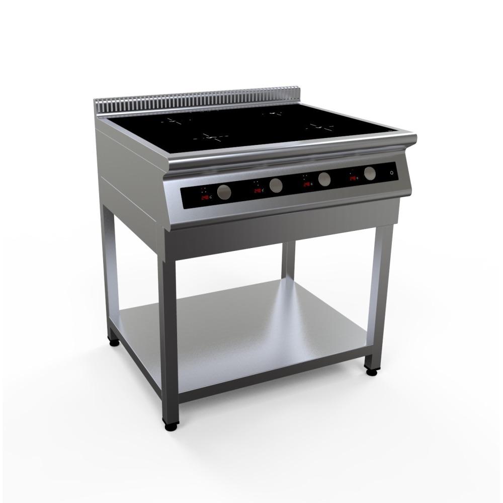 Плита индукционная двухконфорочная I7-2S настольная серия 700