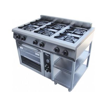 Плиты газовые 6-ти горелочные для общепита