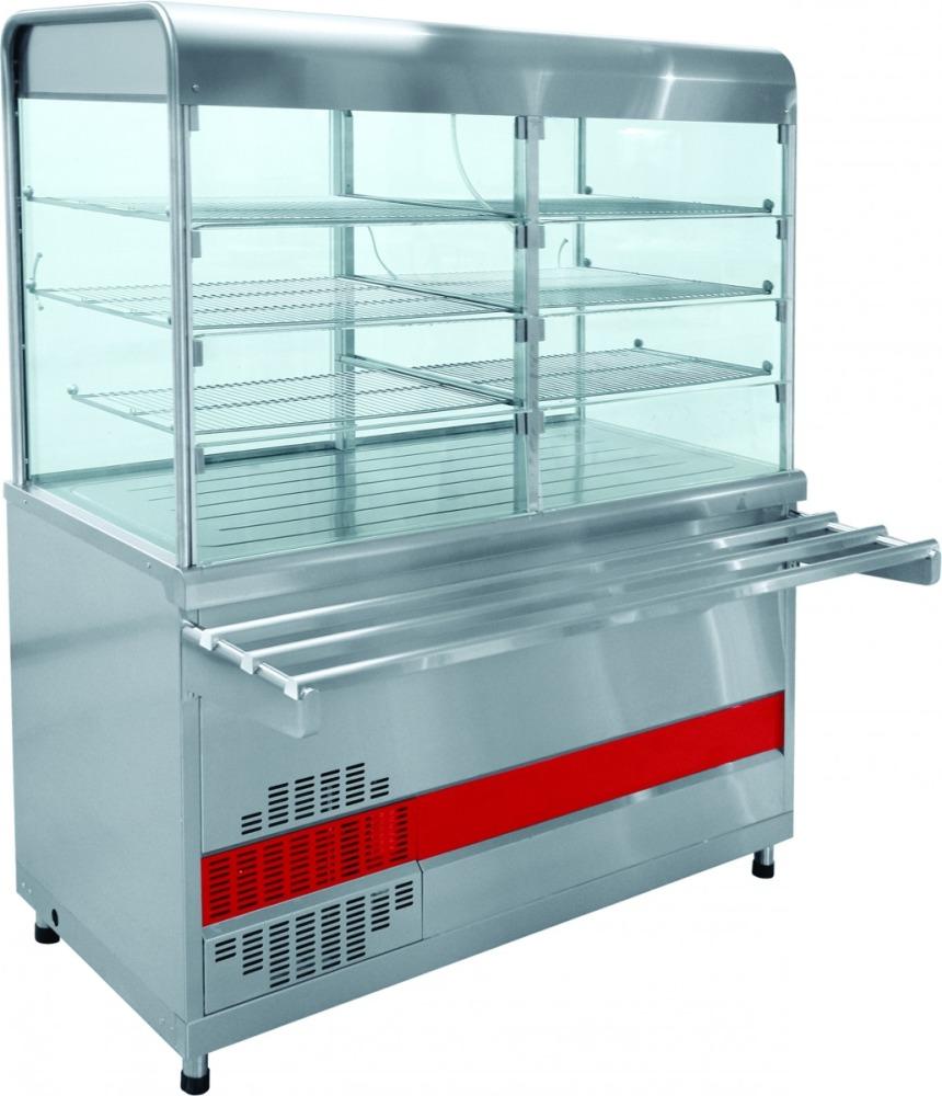 Прилавок для холодных закусок ПВВ(Н)-70КМ-С-01-ОК