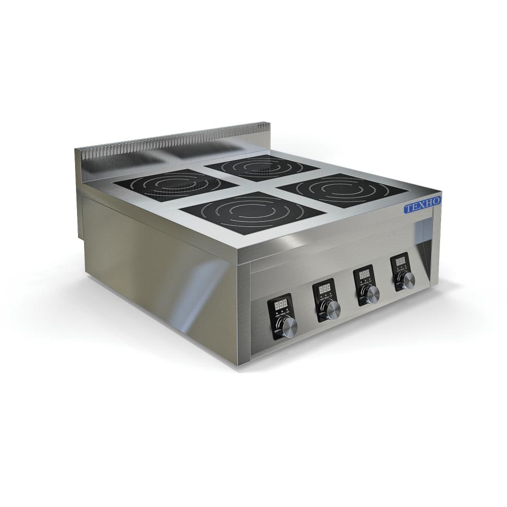 4-х конфорочные индукционные плиты